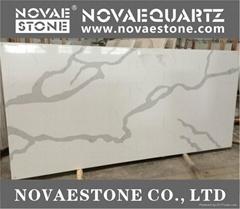 NV903 Calacatta Quartz Stone Coutertop