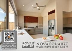 NV701 White Chocolate Quartz Stone