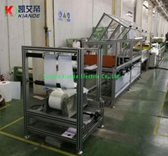 Polyester Film Forming Machine Mylar Film Folding Machine for Busway System