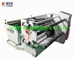 Busbar Polyester Film Cutting Machine Mylar Film Slitting Machine