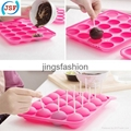 Hot Selling Food Safety Silicone Cake Pop Molds 20pcs Set With 20 Free Sticks 5