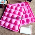 Hot Selling Food Safety Silicone Cake Pop Molds 20pcs Set With 20 Free Sticks 1