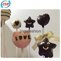 New Special Design 20 Holes Silicone Cake Pop Molds Set With 20 Free Sticks 2