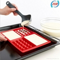 Red Silicone Square Waffle Mold Perfect Home Products Baking Molds 3