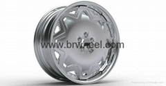 NISSAN 350Z 18 Chrome rims wheels custom chrome wheels 3 piece wheels