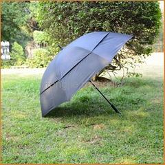 双层带网纱高尔夫伞