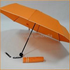 蘭博三折傘,橙色,綠色,黑色,藍色