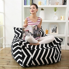 visi bean bag armchair flag printing beanbag chairs home furniture
