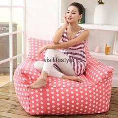 visi bean bag armchair flag printing beanbag chairs home furniture