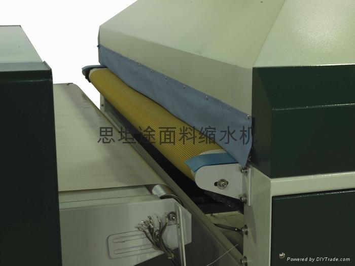 全自動面料預縮定型機 5