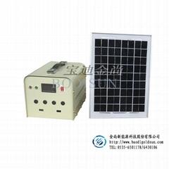 烟台金尚新能源 小型太阳能光伏发电系统 10W