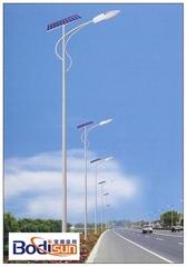 煙臺金尚太陽能路燈室外道路照明燈