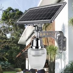 烟台金尚太阳能一体化路灯苹果灯LED灯