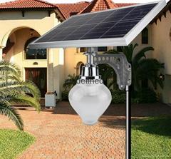 宝迪金尚太阳能一体化路灯桃子灯LED