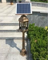 欧式太阳能灭蚊灯