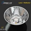 Lighting accessories COB reflector for track light 75mm lights reflector 2