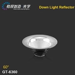 Illumination alibaba led lights COB reflector for downlight  63mm luminaire