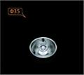 LED lighting COB lens for AR111 GLA3510