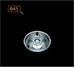 Sharp 1215 COB lens for tracklight GLA4530 45mm 30 degree led optical lens