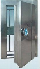 Stainless steel vault door