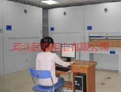 Automatic layer selection file cabinet