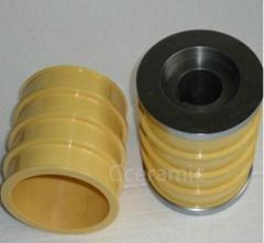 yellow zirconia ceramic sleeve