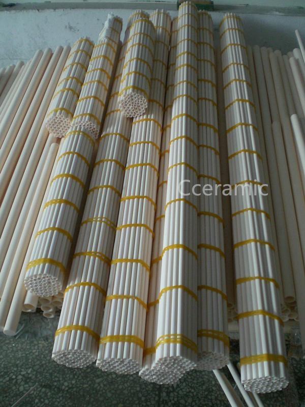 99%alumina ceramic tube 3