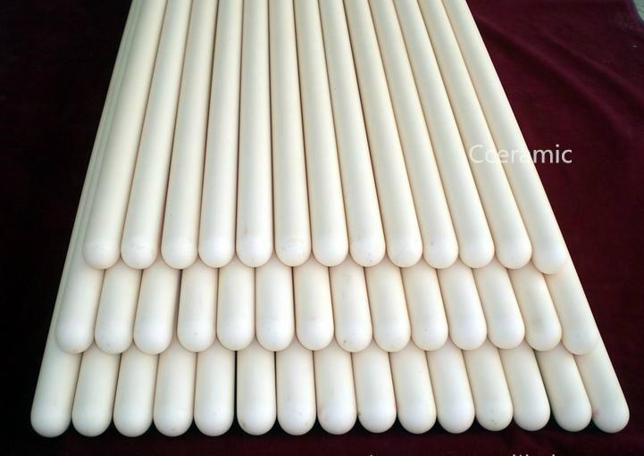 99.5%Alumina Thermocouple tube 1