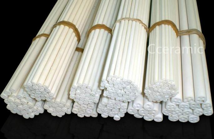 4Holes Alumina Ceramic Tube 1