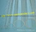 Opaque / translucent quartz glass tube 1