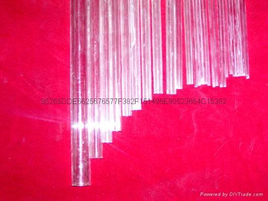 Opaque / translucent quartz glass tube 5