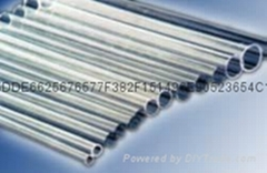Transparent quartz glass tubing