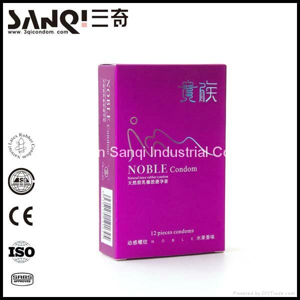 Best ultra thin extra dotted latex condom 3