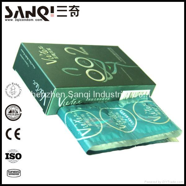Premium latex male condom price 5