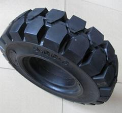 叉车实心轮胎