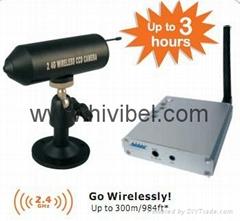 2.4GHz Handheld Mini Wireless Camera Kit Li-ion Battery Embedded Camera