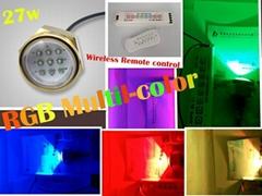 RGB 1800LM LED Underwater drain plug light