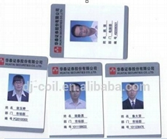 personized photo id cards rfid employee smart id card