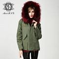 Hotsale fur parka for women in winter