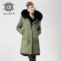 popular styles fashion fur coat for
