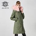 real fox fur women coat,popular style in