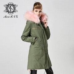 real fox fur women coat,popular style in 2015 winter