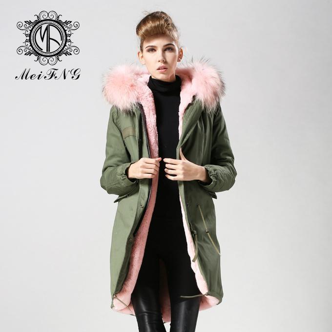 real fox fur women coat,popular style in 2015 winter 5