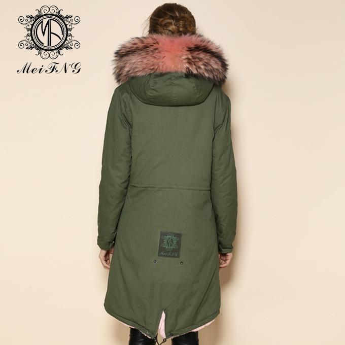 real fox fur women coat,popular style in 2015 winter 4