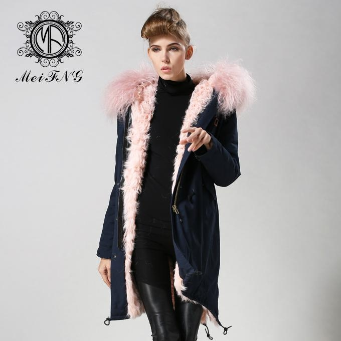real lamb fur jacket for women and men unisex 1