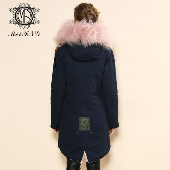 real lamb fur jacket for women and men unisex 2