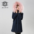 real lamb fur jacket for women and men unisex 5