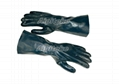 Nitrile Fully Dip Gloves With Crushed