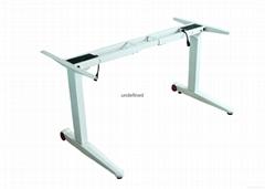 廠家直銷 變形元素二腳三節電動昇降辦公桌BXYS-B2R 批發