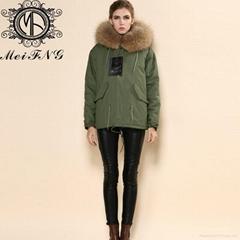 2015 Hot Sale Rabbit Fur Jacket Plus Size Factory Price